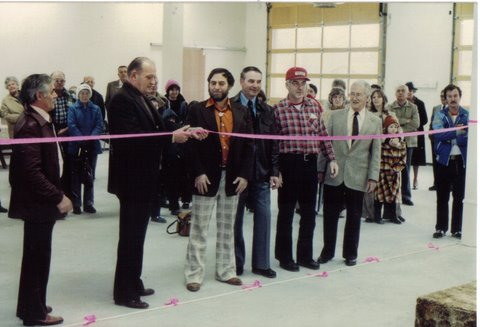 Official opening of the new fire hall - 1982