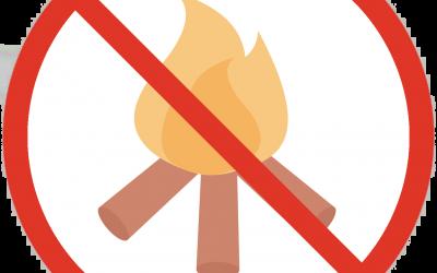 2021 Fire Ban in Effect